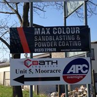 MAX Colour Sandblasting & Powder Coating